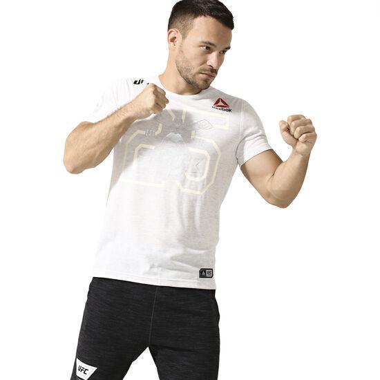 Reebok - UFC Fight Kit Decorated Jersey Chalk DN2423