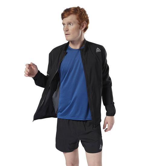 Reebok - Running Woven Jacket Black CY4705