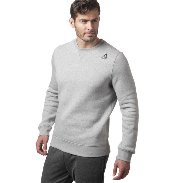 Elements Fleece Crew Grey CY4859