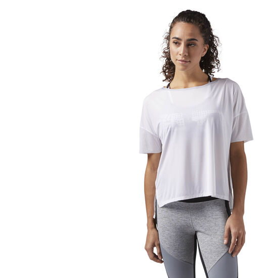 Reebok - Relaxed Women's T-Shirt White CG1074
