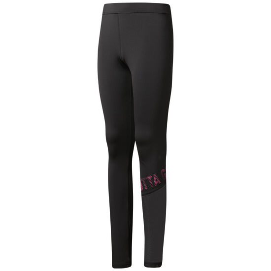 Reebok - Girl Squad Linear Leggings Black CF9420