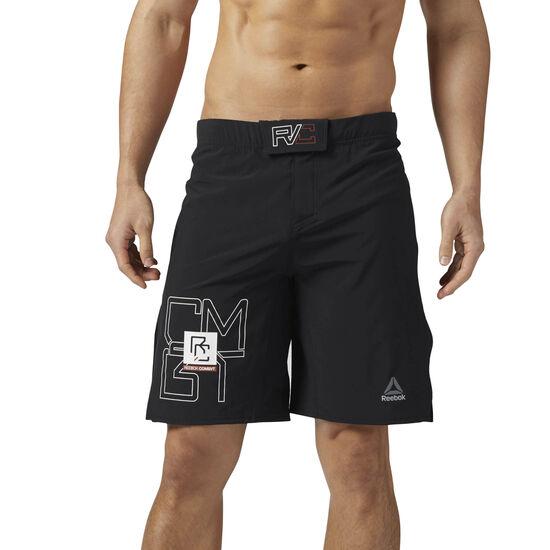 Reebok - Reebok Combat MMA Shorts Black BQ5713