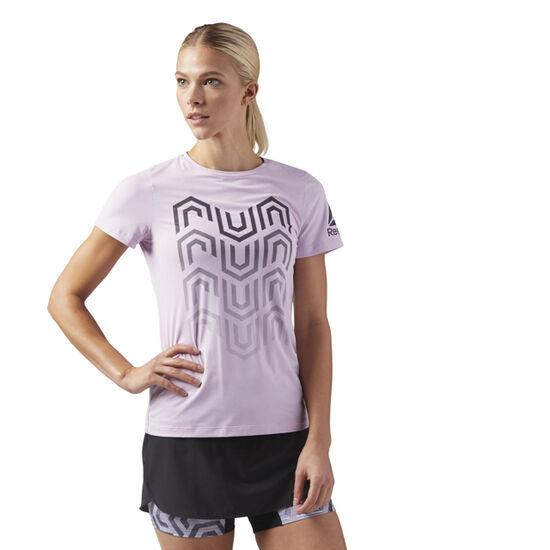 Reebok - ACTIVCHILL Running T-Shirt Pink/Moonglow CW0469
