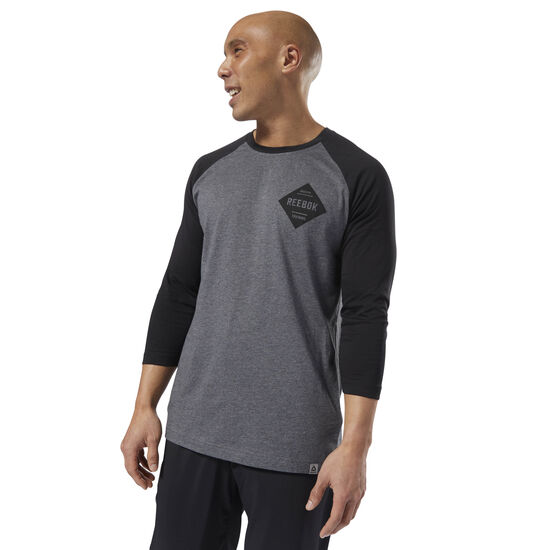 Reebok - GS Reebok Raglan Dark Grey Heather DH3760