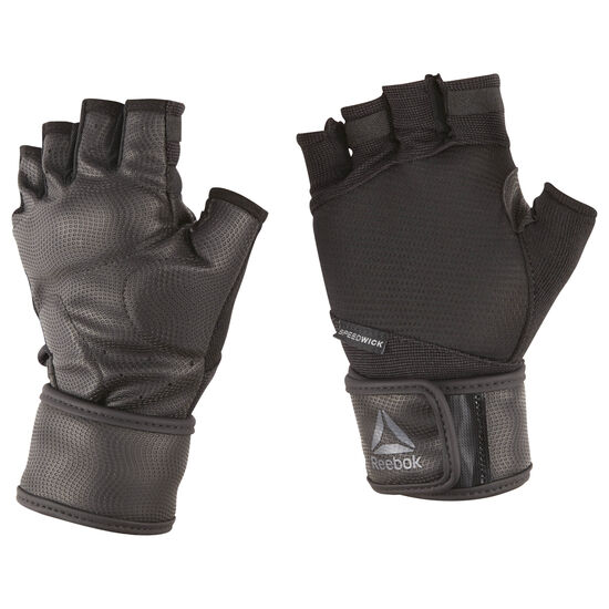 Reebok - Training Wrist Glove Black/Tin Grey CV5843