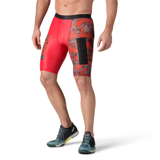 Reebok - Reebok CrossFit Compression Shorts Primal Red CD4499