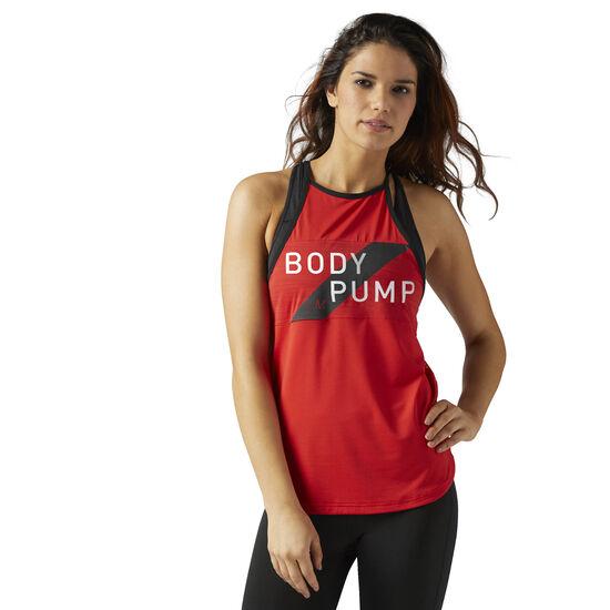 Reebok - LES MILLS BODYPUMP™ Tank Top Primal Red CE4198