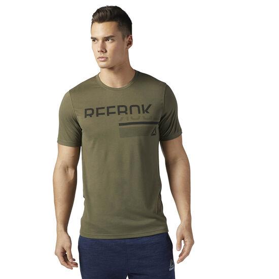 Reebok - WOR SUP 2.0 T REEBOK GRAP Army Green BQ3718