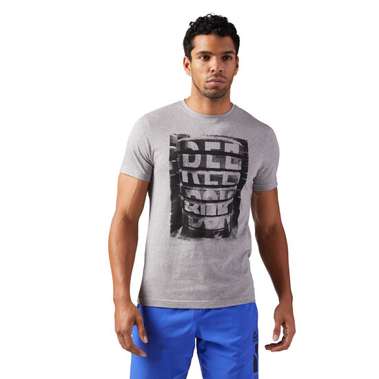 Reebok - M Tee 2 Medium Grey Heather CF3857