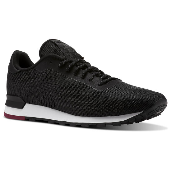 Reebok - Classic Leather Flexweave Black/White/Urban Maroon CN2135