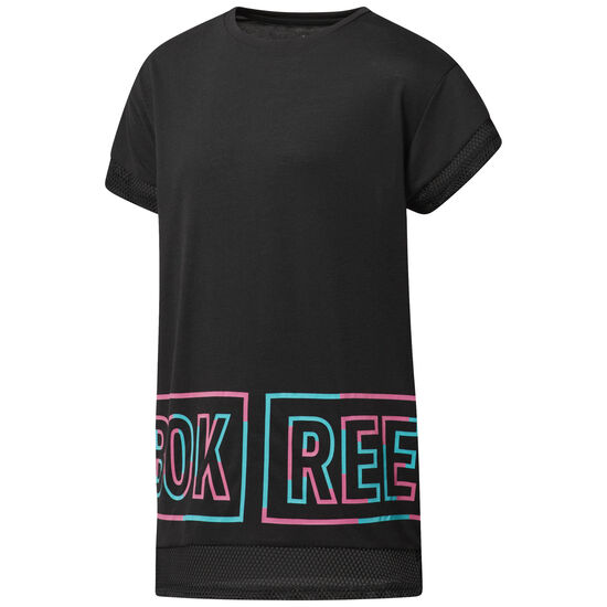 Reebok - Girl Squad T-Shirt Black CF9417