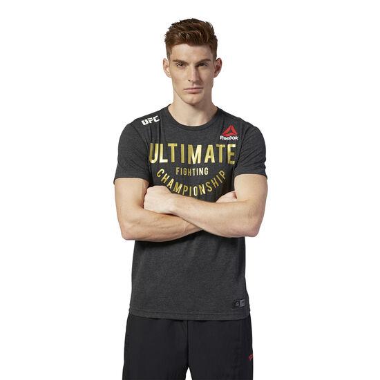 Reebok - UFC Fight Night Walkout Jersey Black/UFC Gold DM5167