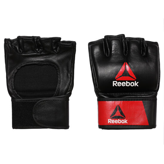 Reebok - Combat Leather MMA Glove - XL Black/Red BH7251