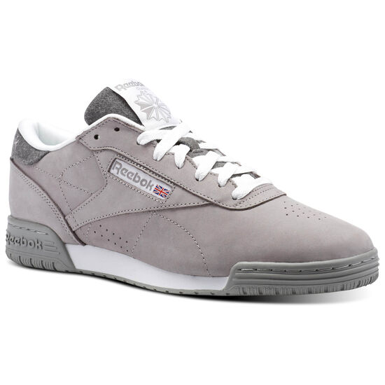 Reebok - Reebok ExoFit Lo Clean Powder Grey/White CM9492