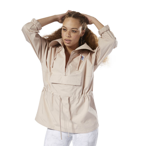 Classics Advanced Anorak Beige DH1257