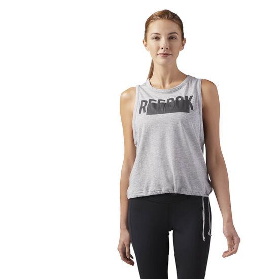 Reebok - Waist Tie Tank Medium Grey Heather CE4414