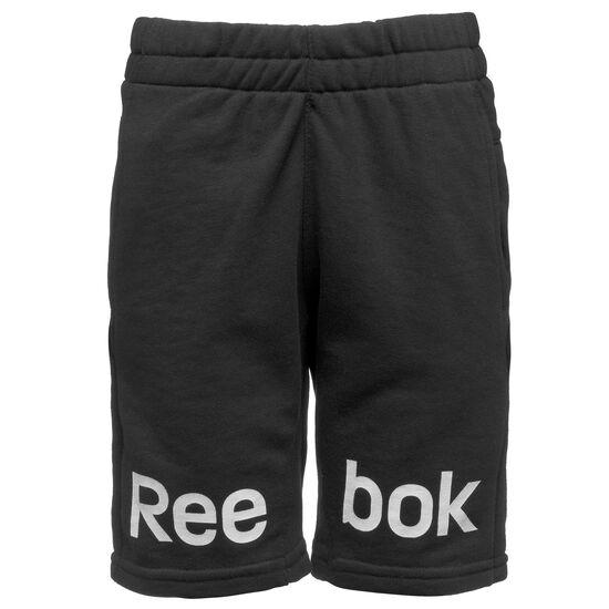 Reebok - Boy's Workout Ready French Terry Shorts Black CV7038