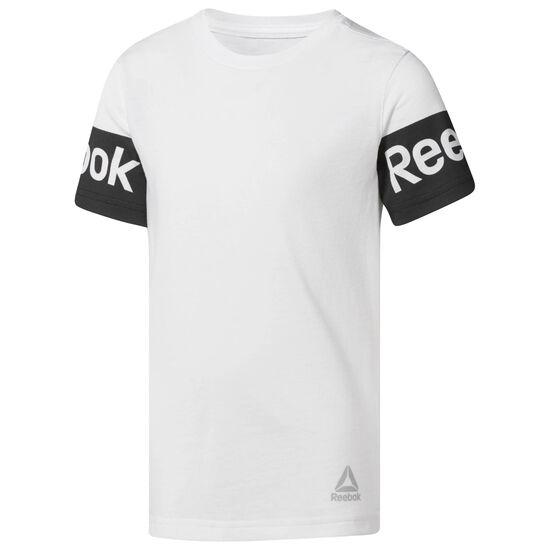 Reebok - Boy's Reebok Tee White CF4265