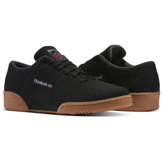 Reebok - Workout Clean OG Ultraknit Black/Meteor Grey/Excellent Red- Gum BS5260