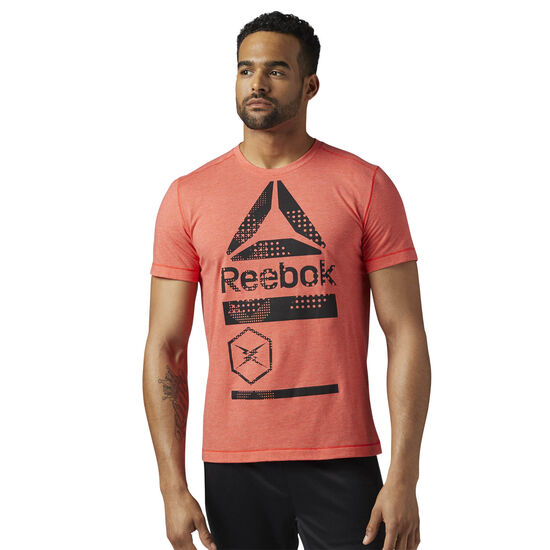 Reebok - Speedwick Graphic Tee Glow Red BR9710
