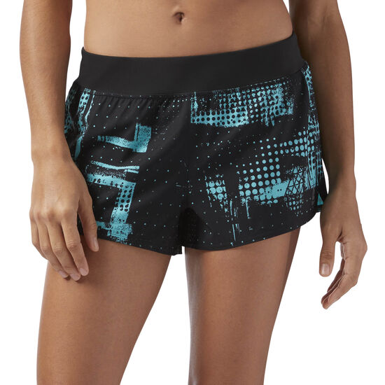 Reebok - 3in Woven Shorts Turquoise/Solid Teal CF5857