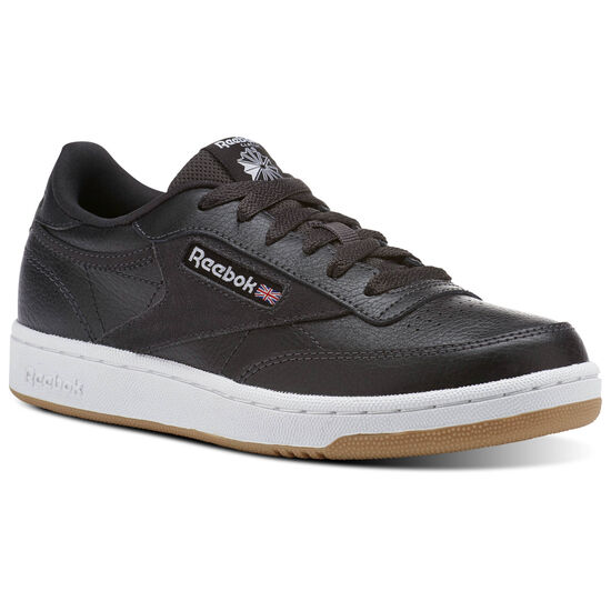 Reebok - Club C 85 ESNTLS Coal/White/Washed Blue CN1199