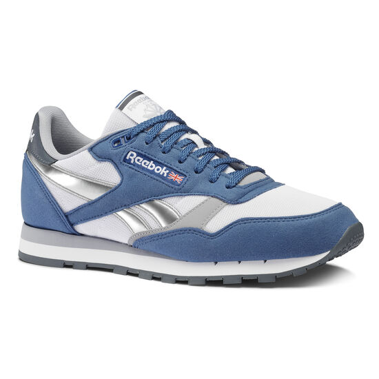 Reebok - Classic Leather Bunker Blue/White/Cool Shadow/Graphite/Silver CN3781