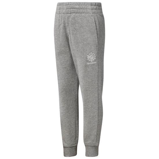 Reebok - Kids Sweatpants Medium Grey Heather CW1776