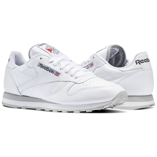 Reebok - Classic Leather Intense White/Light Grey 2214