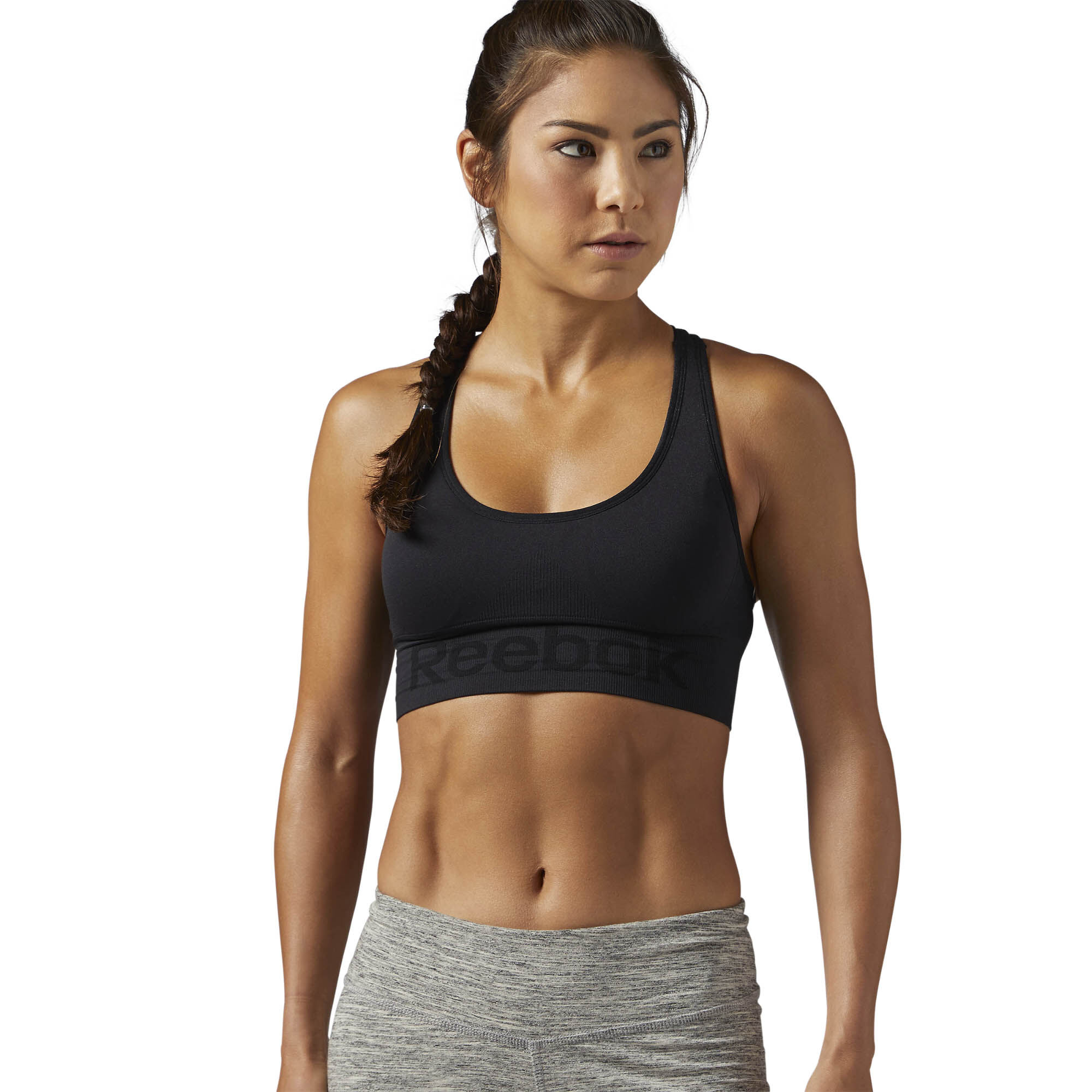 Reebok - Workout Ready Seamless Sports Bra Black CE7789
