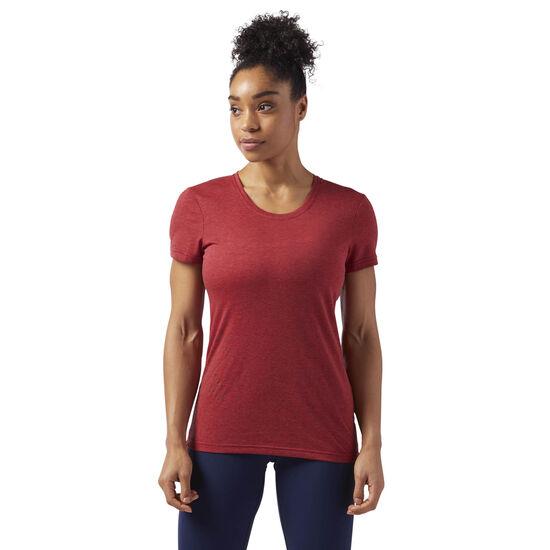 Reebok - Reebok CrossFit SPEEDWICK T-Shirt Rich Magma Melange CD6449