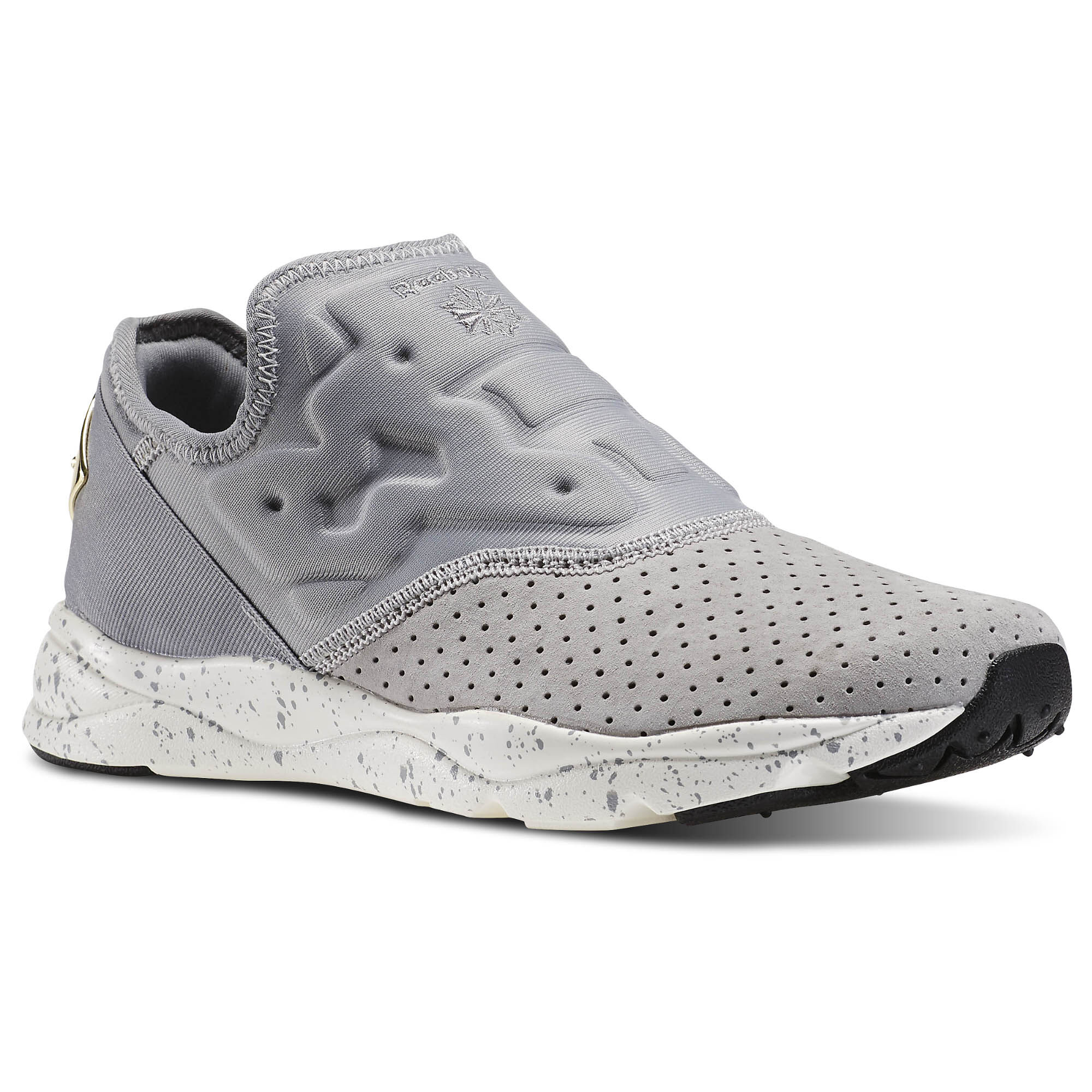 Reebok - Furylite Slip-On Lux Tin Grey/Chalk/Reebok Brass V69632