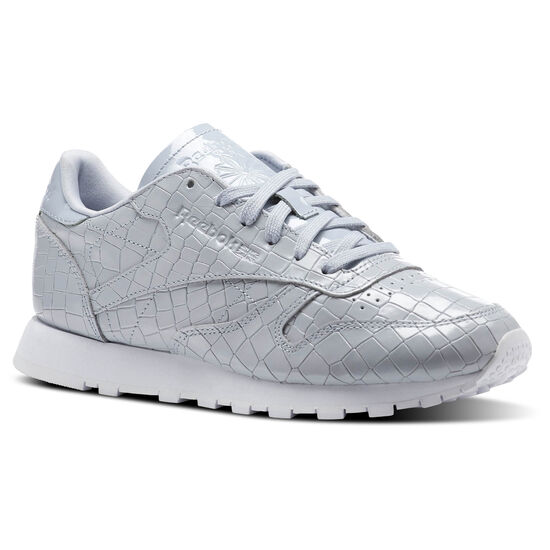 Reebok - Classic Leather Crackle Cloud Grey/White BS9869