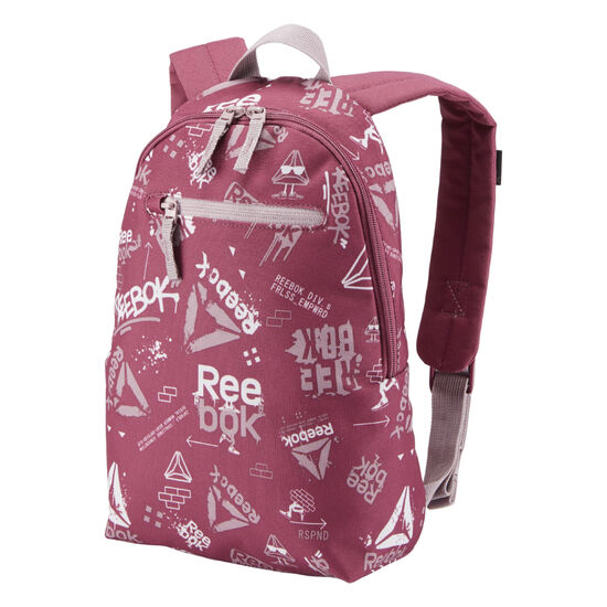 Reebok - Kids Unisex Small Graphic Backpack 2 Twisted Berry DA1240