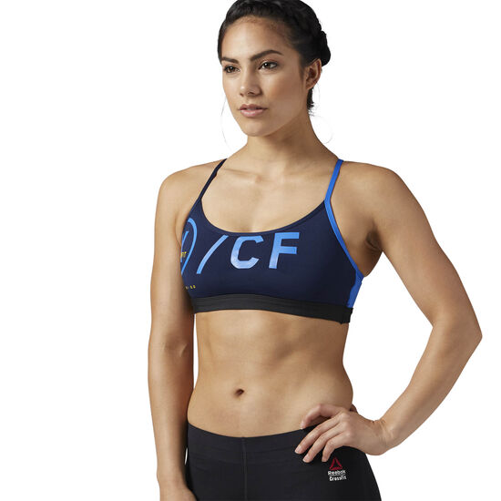Reebok - Reebok CrossFit Strappy Sports Bra Collegiate Navy BS1832
