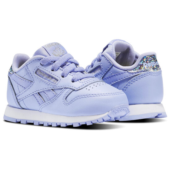 Reebok - Classic Leather Pastel - Infant & Toddler Lilac Glow/White BS8980