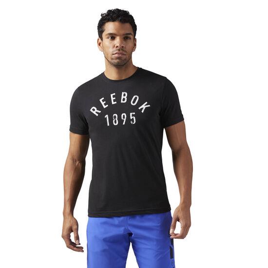 Reebok - 1895 Workout T-Shirt Black CF3881