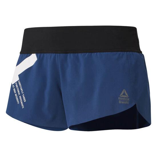 Reebok - Reebok CrossFit Knitted Waistband Shorts - Graphic Bunker Blue D94945