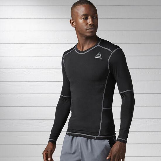 Reebok - Work Out Ready Compression Long Sleeve Shirt Black BK4180