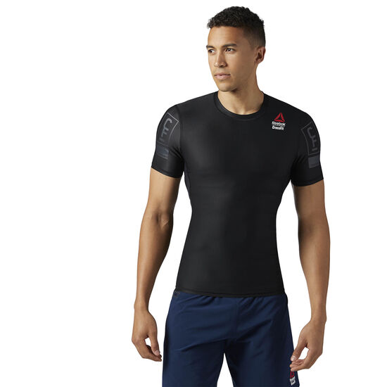 Reebok - Reebok Crossfit Compression Tee Black BS1575