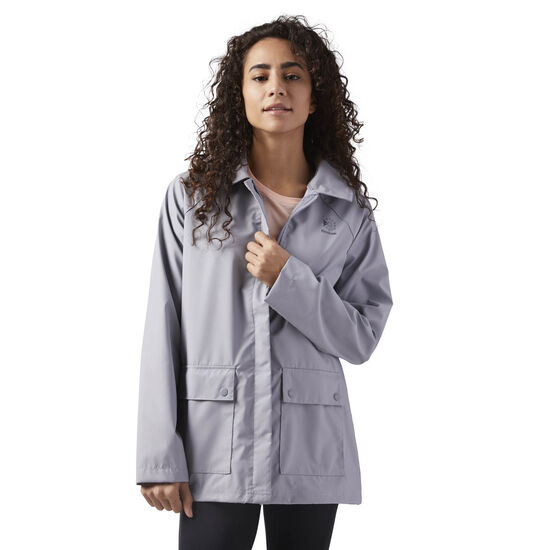 Reebok - Relaxed Fit Coach Jacket Cool Shadow CE1800