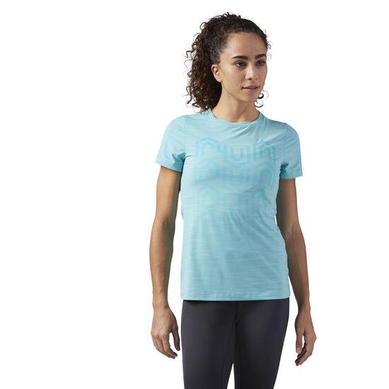 Reebok - ACTIVCHILL Running T-Shirt Turquoise CW0472