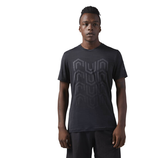 Reebok - ACTIVCHILL Running T-Shirt Black CW0465