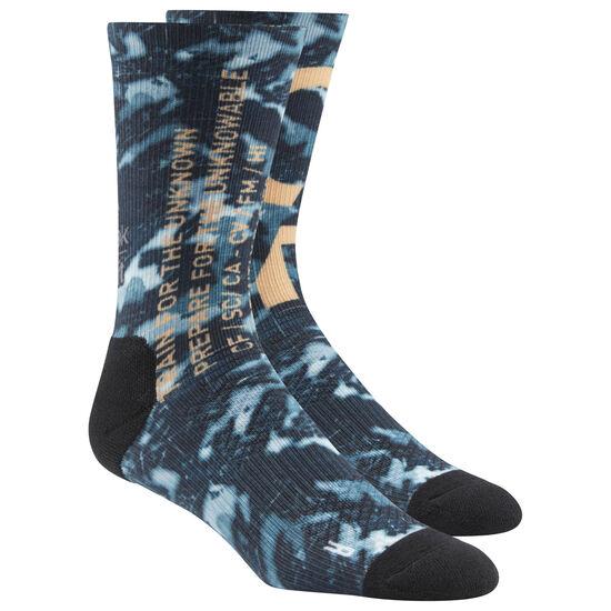 Reebok - Reebok CrossFit Graphic Socks Blue CV5992