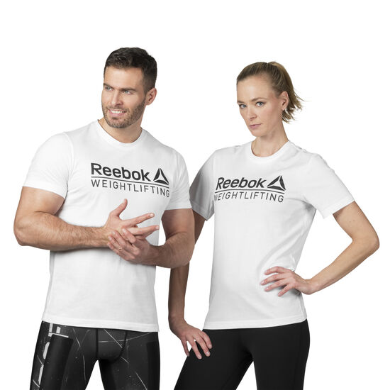 Reebok - Reebok Weightlifting Tee White D93958