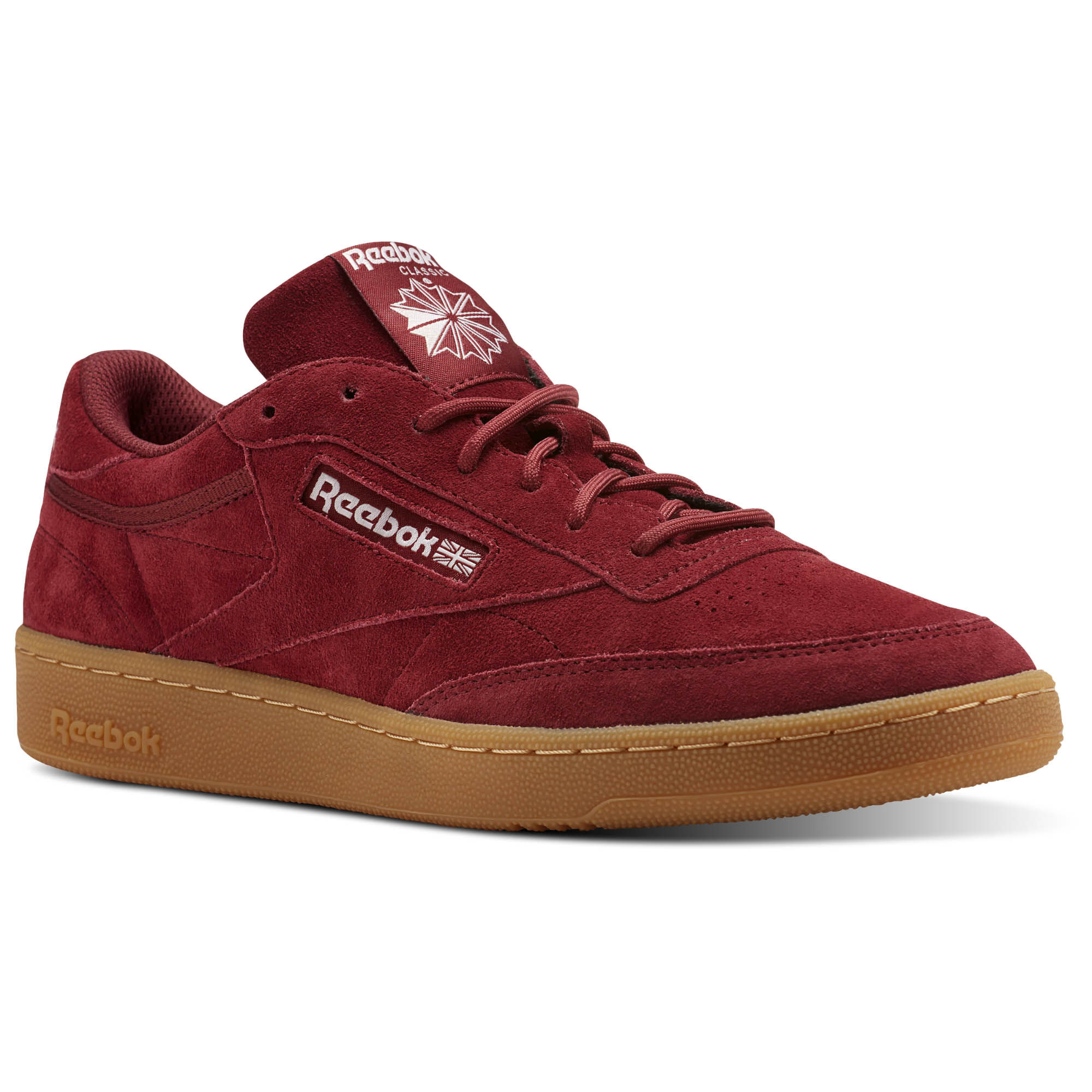 CLUB C 85 GS - Sneaker low - urban maroon/chalk