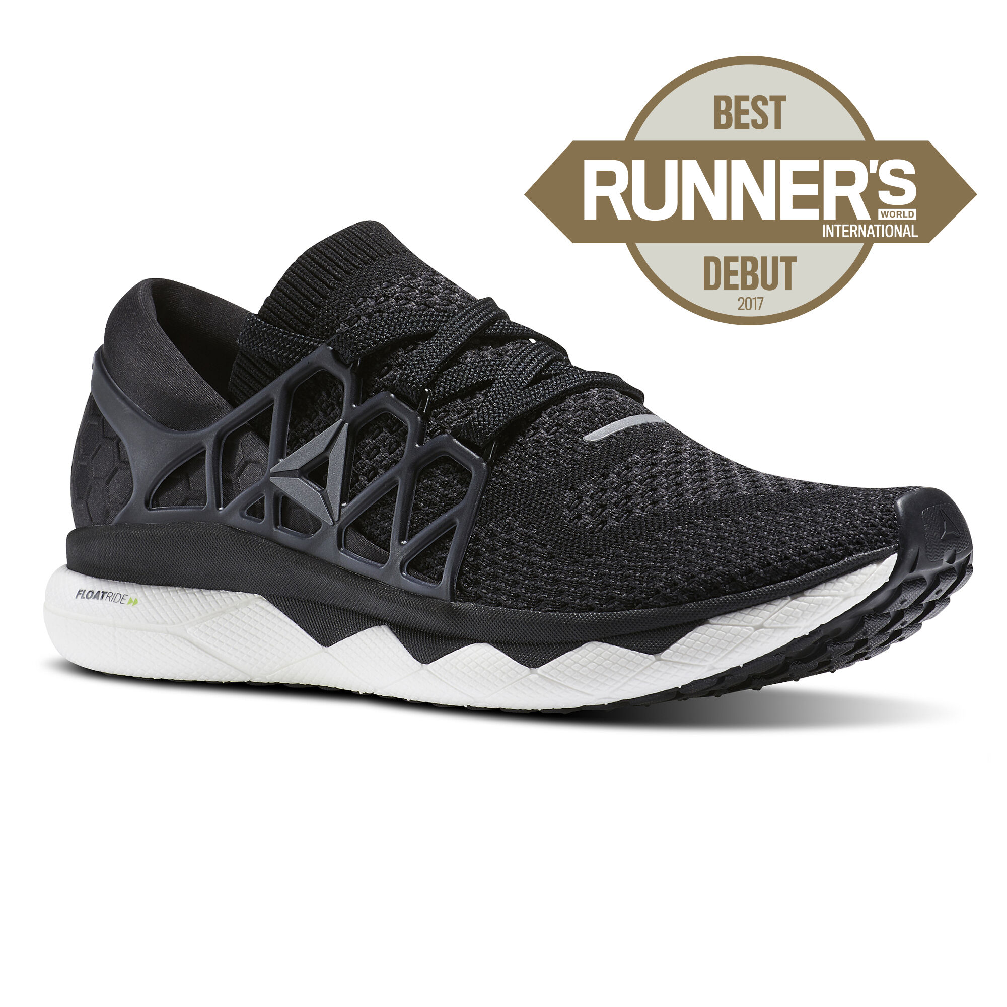Reebok - Reebok Floatride Run Ultraknit Black/Gravel/White BS8152