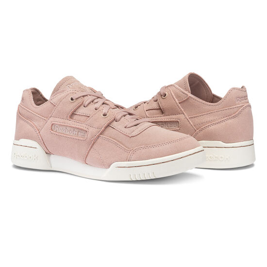 Reebok - Workout Lo Plus FBT Shell Pink/Sandy Rose/Chalk BS6404