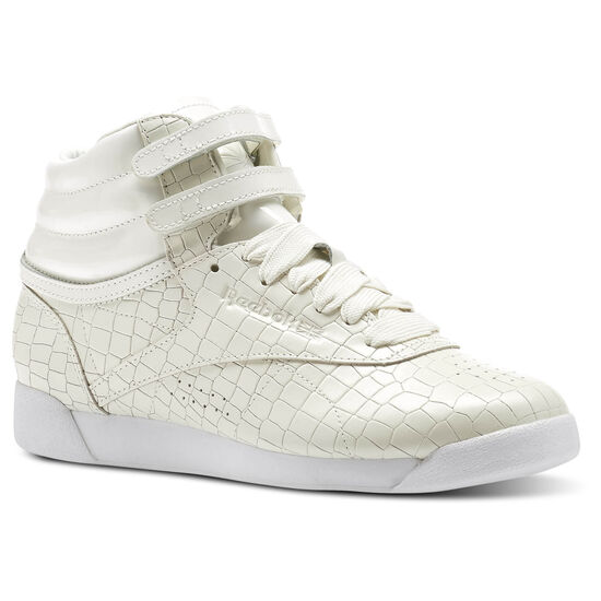 Reebok - Freestyle HI CRACKLE Chalk/White CN2193