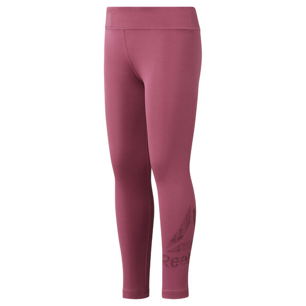 Girls' Reebok Adventure Basic Leggings Pink DH4289